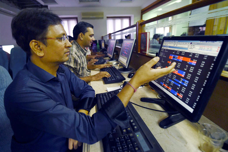 Sensex at 57,000 for 1st time, Nifty hits record high, at 16,980 in pre-open
